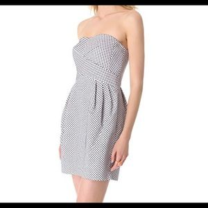 Club Monaco Size 8 Natasha Polka Dot Dress